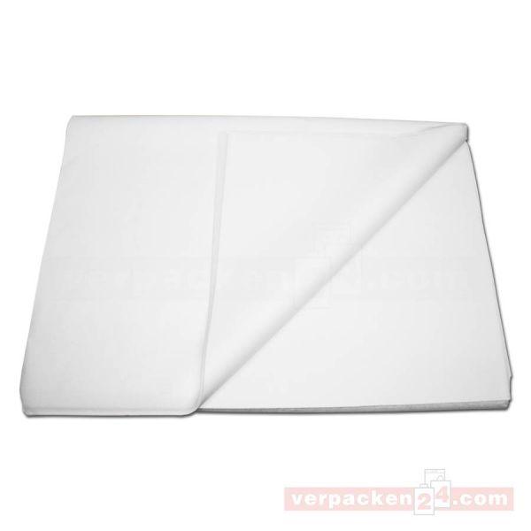 Seidenpapier, hochweiß, säurefrei - 50,0x 75 cm - 1/2 Bogen