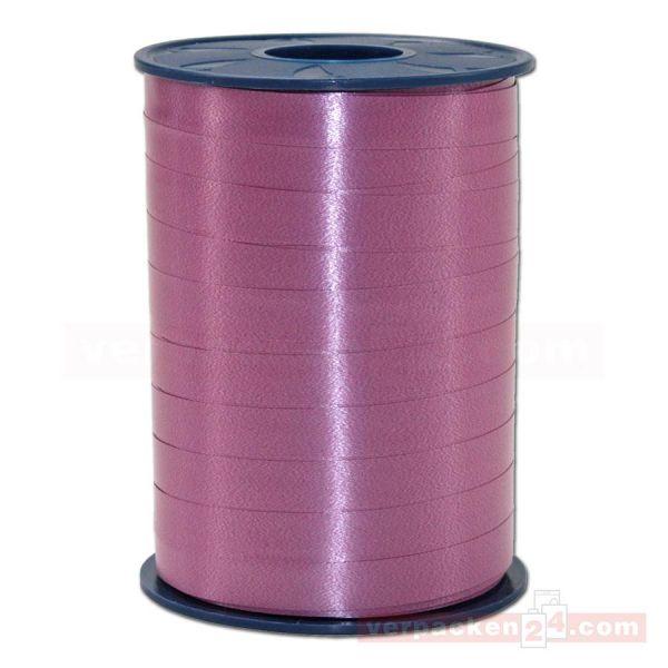 Glanzband auf Rolle 250 mtr., 9 mm - rubinrot (028)