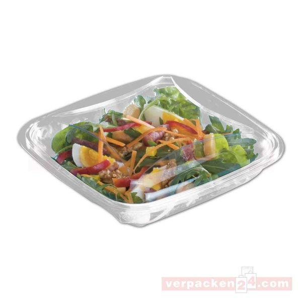 Salatschale CRUDIPACK - Schale glasklar, quadratisch