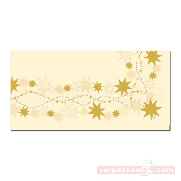 Dunicel-Mitteldecke DUNI Xmas - Bogen 84x84cm - Dancing Stars
