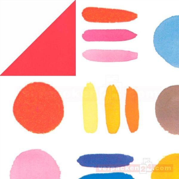 Geschenkpapier, neutral W 60150, Rolle 50 cm - Punkte bunt