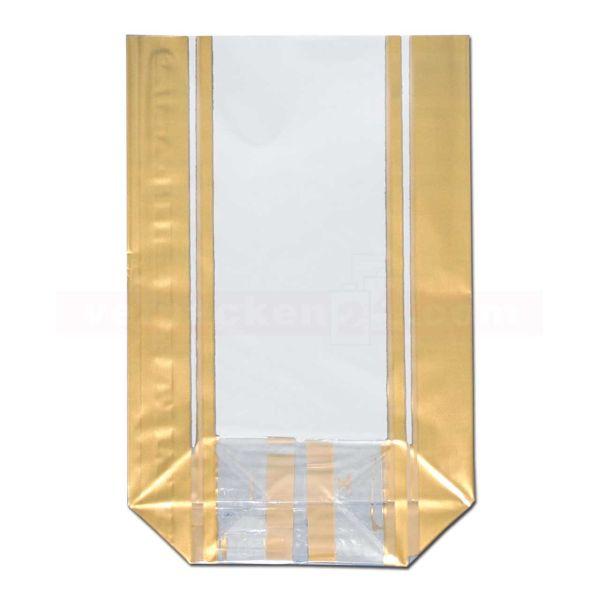 Bodenbeutel Polypropylen (PP), Confisserie Line - gold