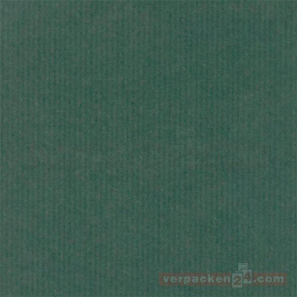 Geschenkpapier, neutral B 7000, Rolle 50 cm - dunkelgrün