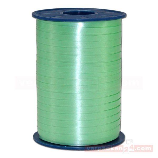 Glanzband auf Rolle 500 mtr., 5 mm - lindgrün (036)