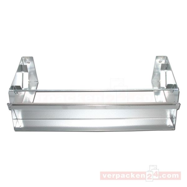Rollenhalter aus Metall, 1-fach - 30 cm