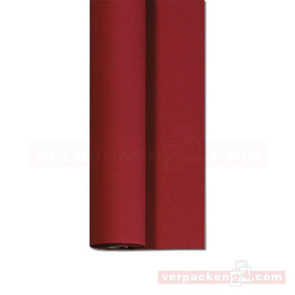 DUNI Dunicel-Tischtuch, Rolle 25 m - 125 cm - bordeaux