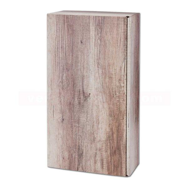 Wein-Flaschenverpackung, Präsentkarton - Wood