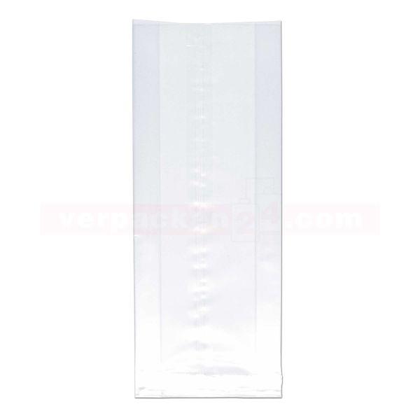Seitenfaltenbeutel Polypropylen (PP), transparent - unbedruckt
