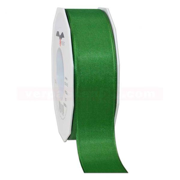 Seidenband - Europa - Rolle 50 m, 40 mm - grün (607)