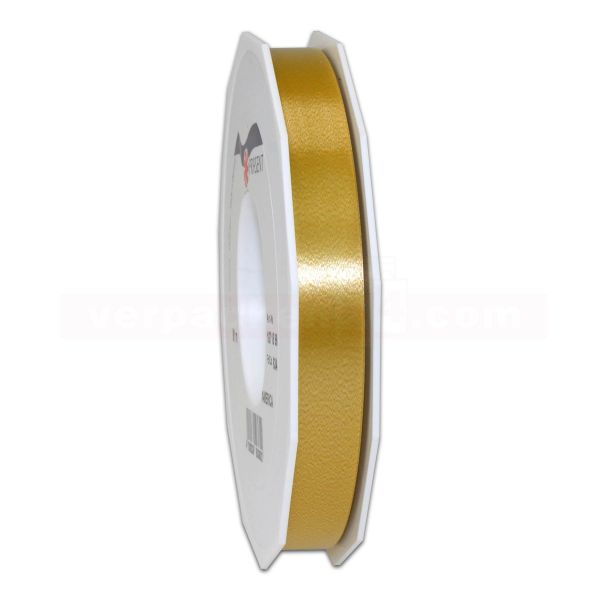 Glanzband auf Rolle 091 mtr., 15 mm - gold (634)