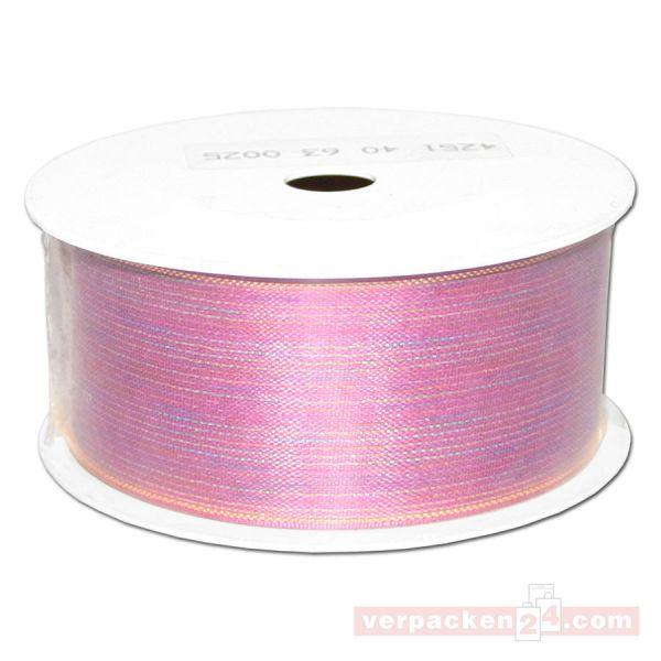 Schmuckband - Opal, unifarbig, Rolle 25 mtr - 40 mm
