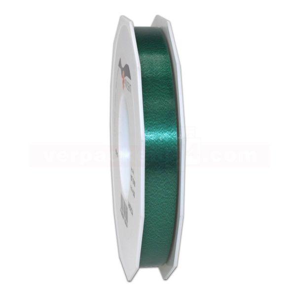 Glanzband auf Rolle 091 mtr., 15 mm - dunkelgrün (035)