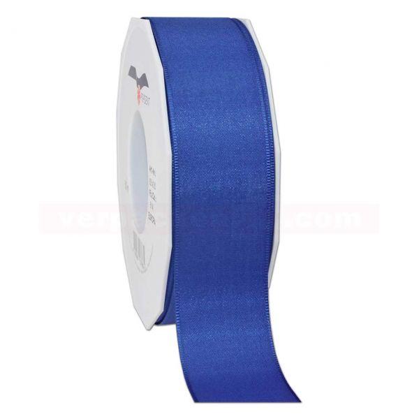 Seidenband - Europa - Rolle 50 m, 40 mm - blau (614)