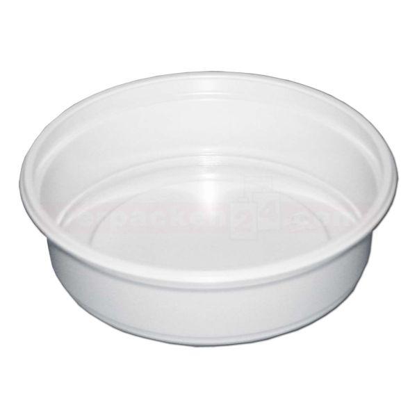 Feinkostbecher NP rund - Becher - Polystyrol weiß - Nr. 160 + 161