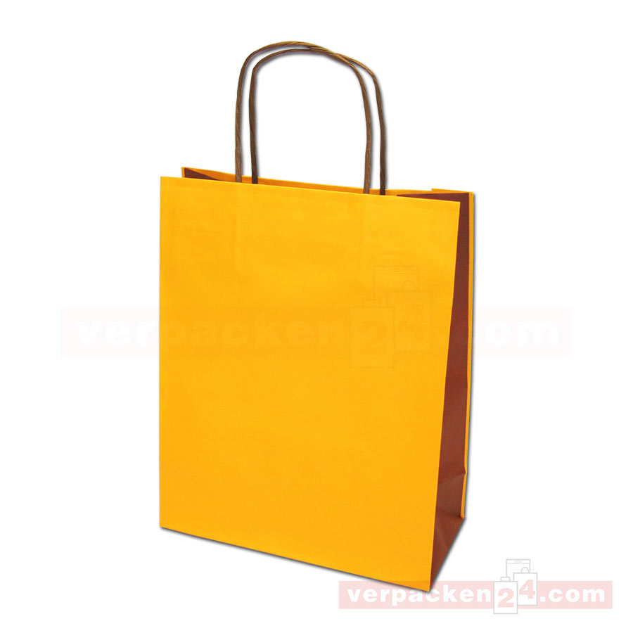 papiertragetasche mainz bicolor orange braun online shop. Black Bedroom Furniture Sets. Home Design Ideas