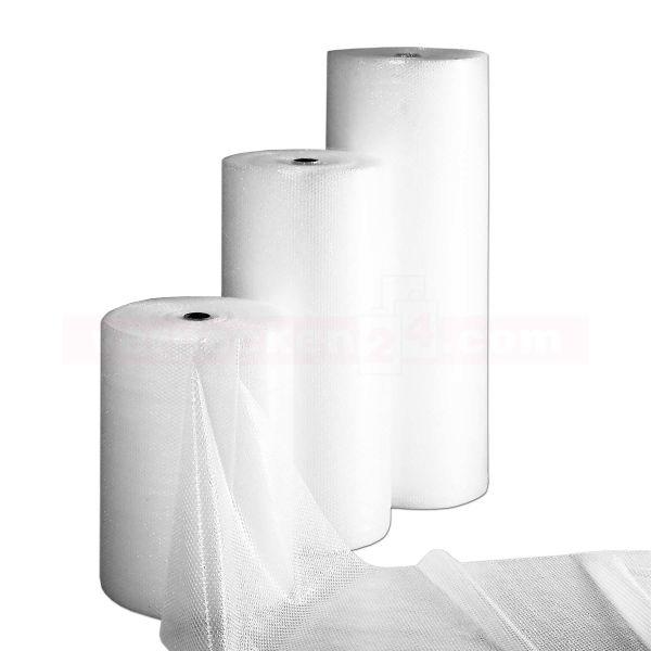 Luftpolsterfolie, transparent, Rolle à 100 m - Noppenfolie