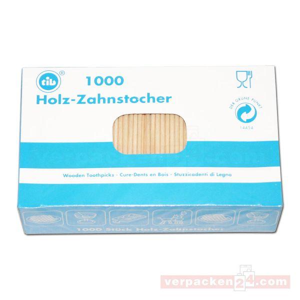 Holzbesteck - Zahnstocher, ungehüllt - 67 mm