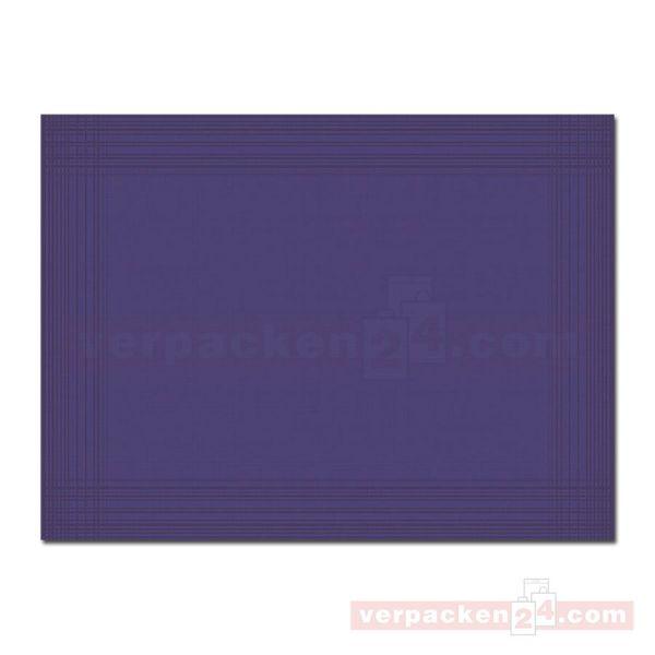 DUNI Dunicel-Tischsets Maitre, 30x40 cm - dunkelblau
