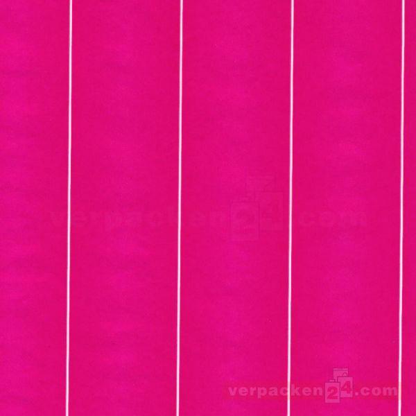 Blumenseiden, weiß Recycling - Colour pink - Rolle - 75 cm