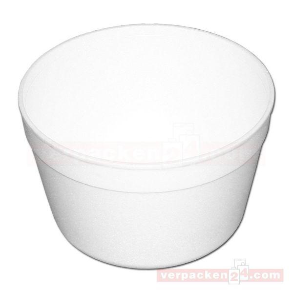 Thermo-Becher, EPS weiß geschäumt - 910 ccm - ideal für Suppen