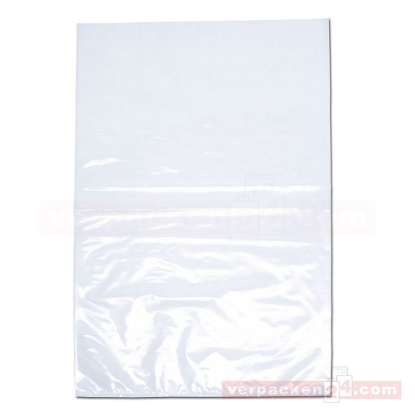LDPE-Flachbeutel, lose, transparent - 40x60 cm - 50 µ
