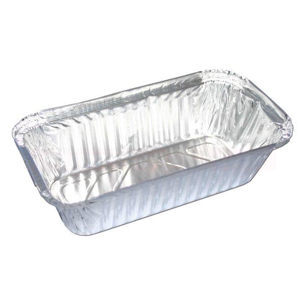 Aluschalen, Lasagne, 1-geteilt - 197x105x49 mm
