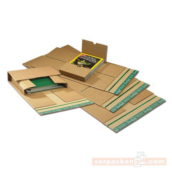 Universal-Versandverpackung Wellpappe braun - SKL