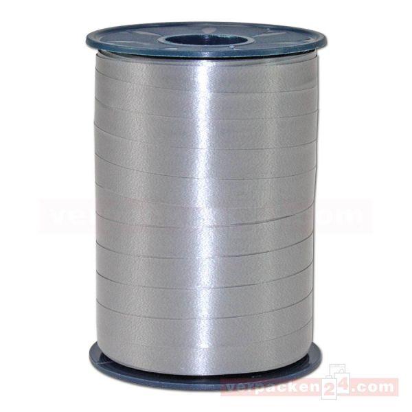 Glanzband auf Rolle 250 mtr., 9 mm - grau (731)