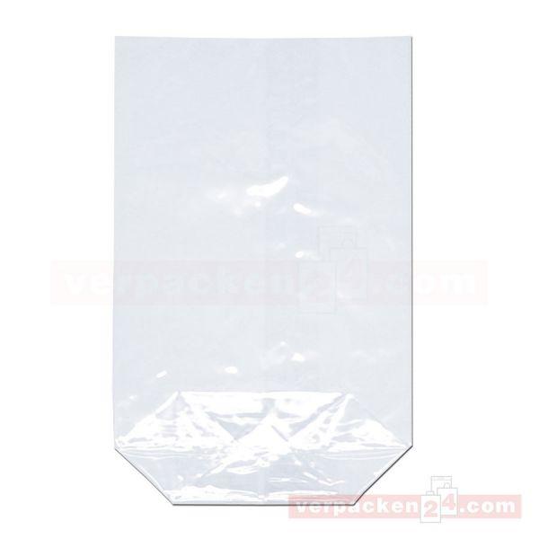 Cellophan-Bodenbeutel P325, glasklar