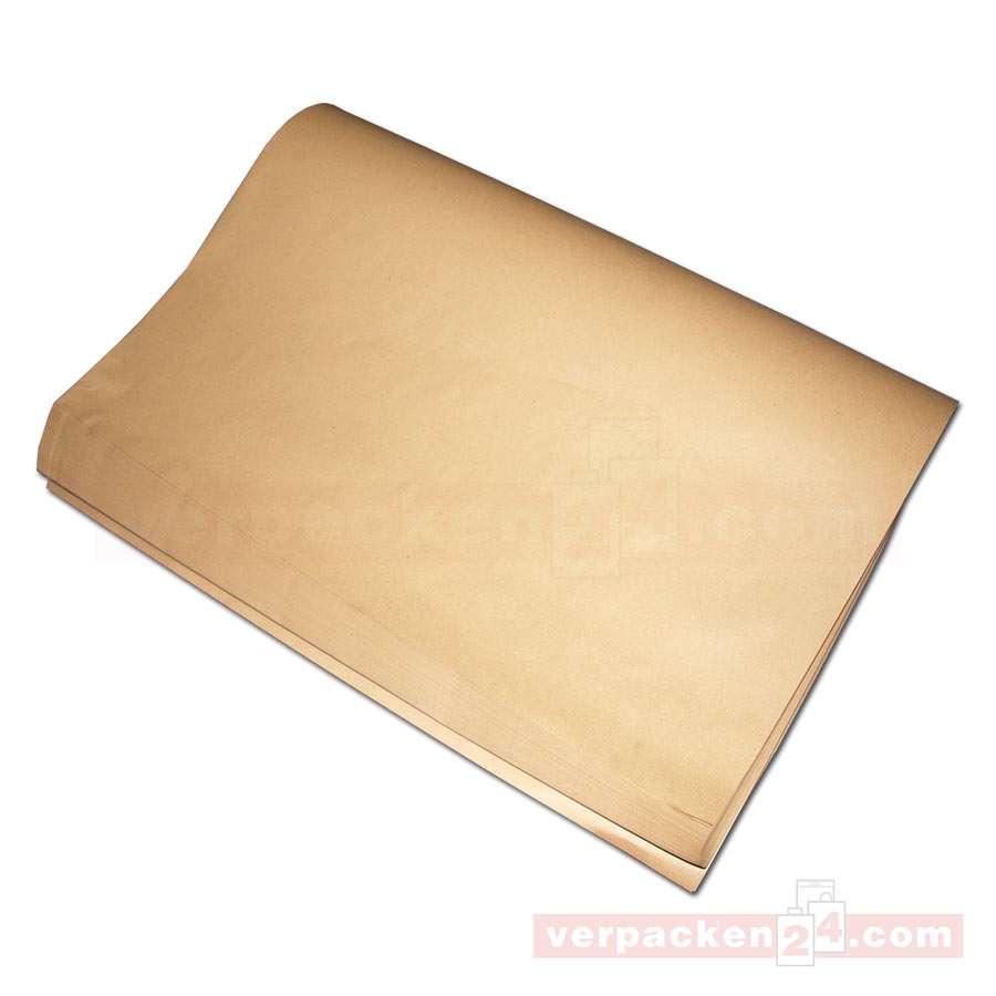 2 Rollen Natronpapier 50 cm x 300 m braun Packpapier