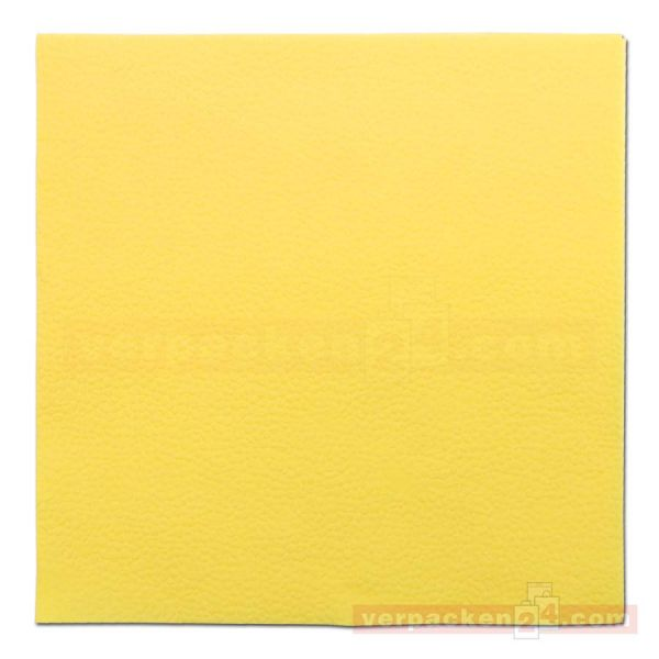 Duni zelltuch servietten 1 lagig 33x33cm gelb for Duni servietten weihnachten