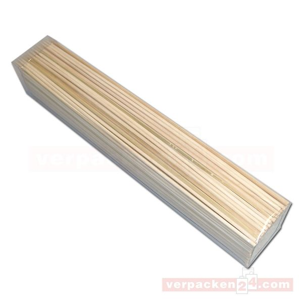 Holzbesteck - Schaschlikspeile, Bambus - 300 mm