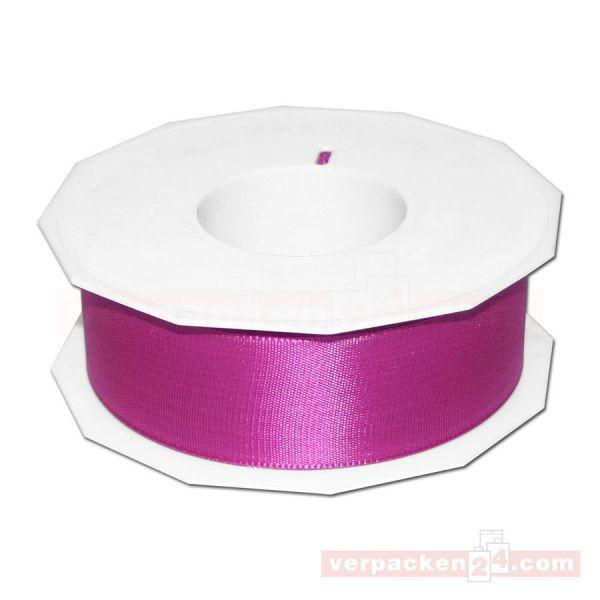 Seidenband - Europa - Rolle 50 m, 40 mm - pink (616)