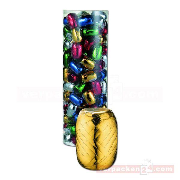 Eiknäule Glanzband - Großpackung - farbig sortiert (glänzend) (VE: 100 Knäule)