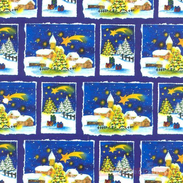 Weihnachts Geschenkpapier E 2367, Rolle 50 cm