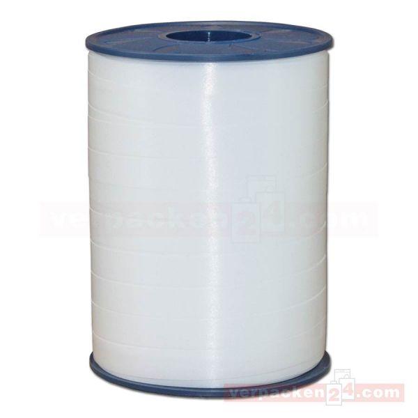 Glanzband auf Rolle 250 mtr., 9 mm - weiß (600)