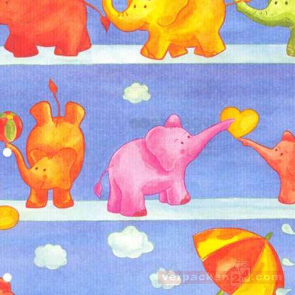 Geschenkpapier Kinder, neutral W 30644, Rolle 50 cm