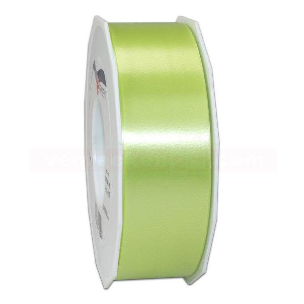 Glanzband auf Rolle 091 mtr., 40 mm - hellgrün (027)