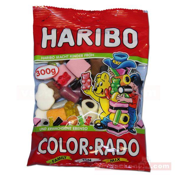 01 - HARIBO Color-Rado - Süßwaren Mischung mit Lakritz - 360 g