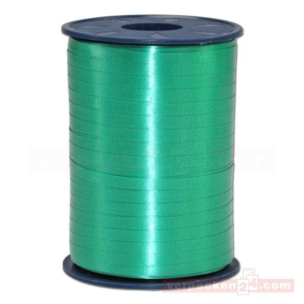 Glanzband auf Rolle 500 mtr., 5 mm - hellgrün (607)