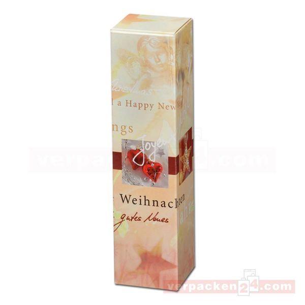 Wein-Flaschenverpackung - Weihnachtsengel