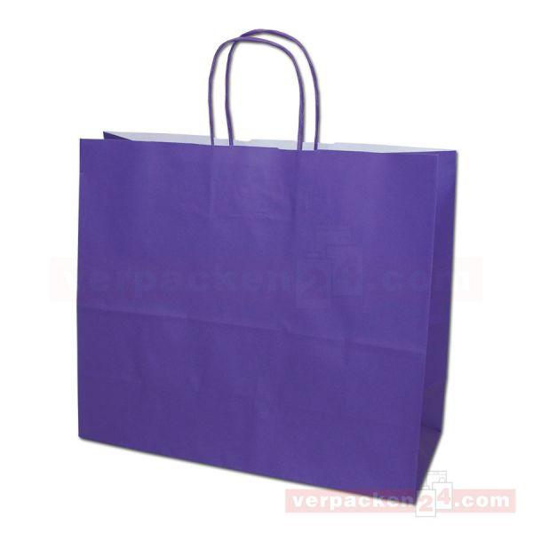 Papiertragetasche Trier HERBST - violett