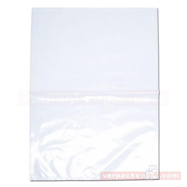 LDPE-Flachbeutel, lose, transparent - 55x75 cm - 100 µ