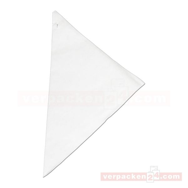 Spitztüten weiß, Kraftpapier - ohne Druck