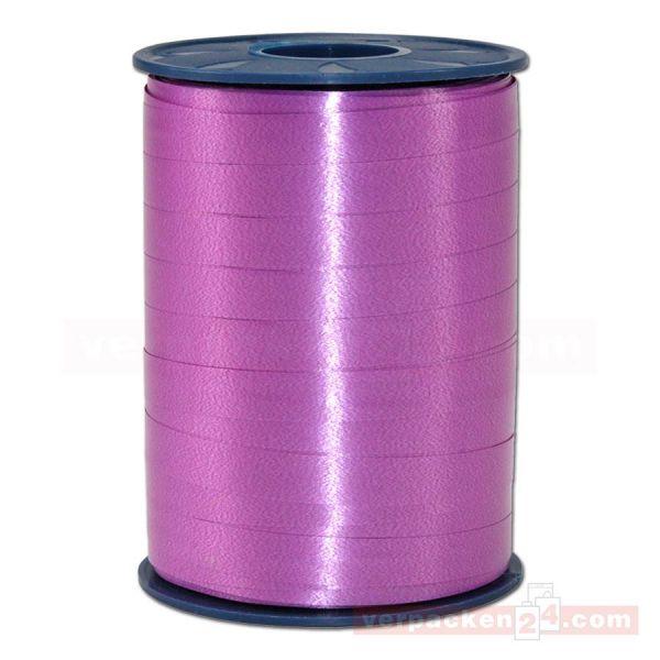 Glanzband auf Rolle 250 mtr., 9 mm - hellviolett (025)