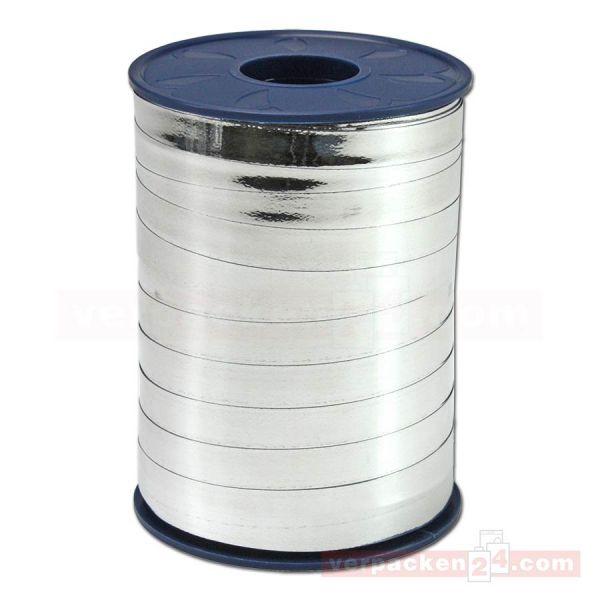 Glanzband metallisiert - 10 mm - Rolle 250 m - silber (631)