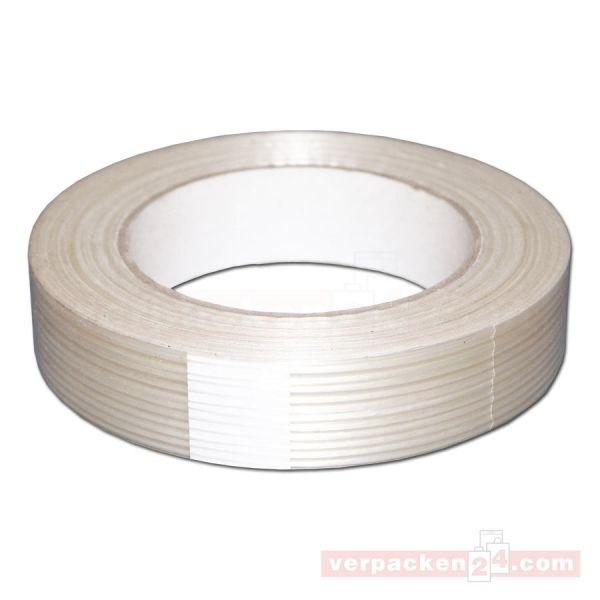 Filamentband, fadenverstärkt, Rolle 50 m - 25 mm
