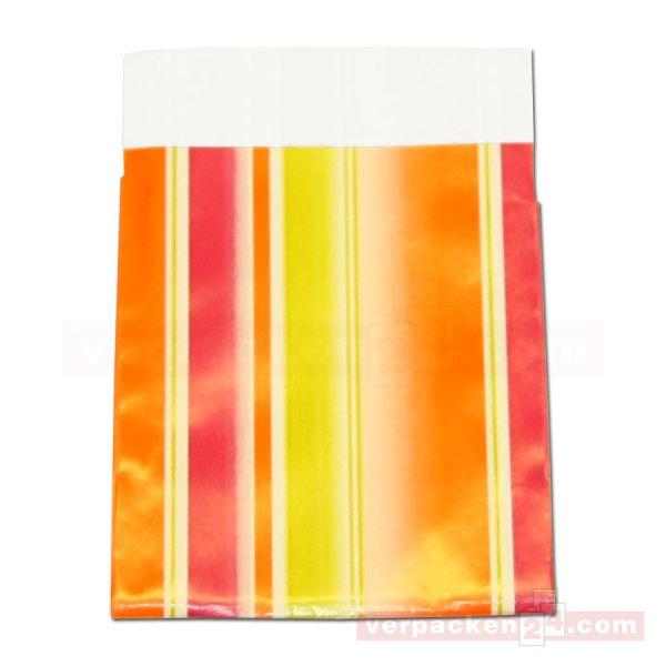 Geschenkflachbeutel, neutral 11110 - orange + pink