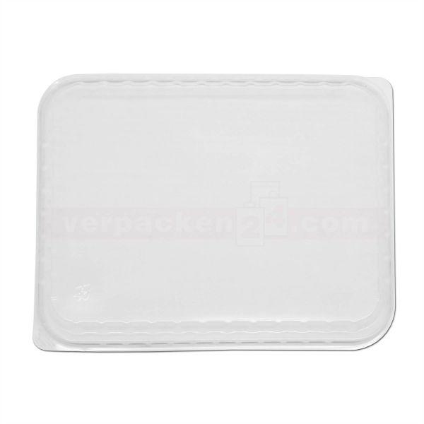 Menüschalen PP - Deckel - 3-geteilt - transparent