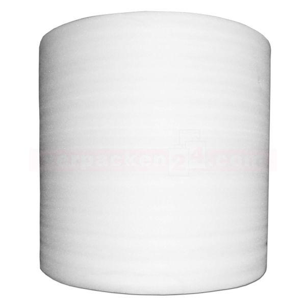 Schaumfolie, weiß, Rolle à 500 m - 125 cm - 1 mm